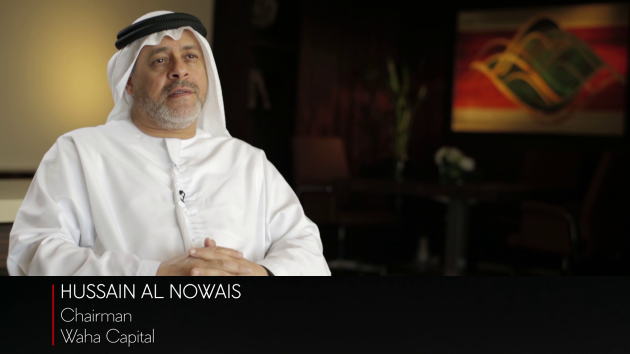 Waha Capital Chairman Hussain Al Nowais on the investment climate in the UAE & the GCC