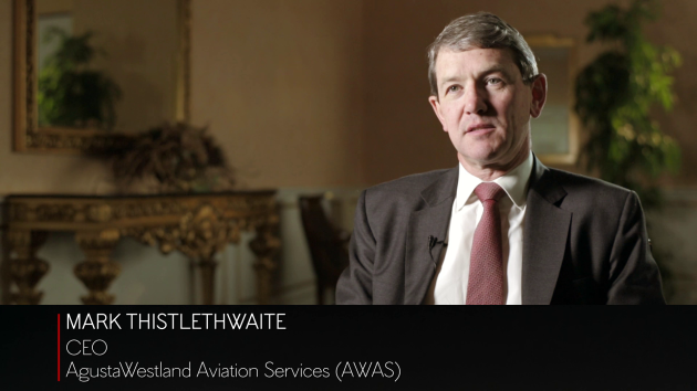 AgustaWestland Aviation Services (AWAS) CEO Mark Thistlethwaite on the helicopter market in the Middle East