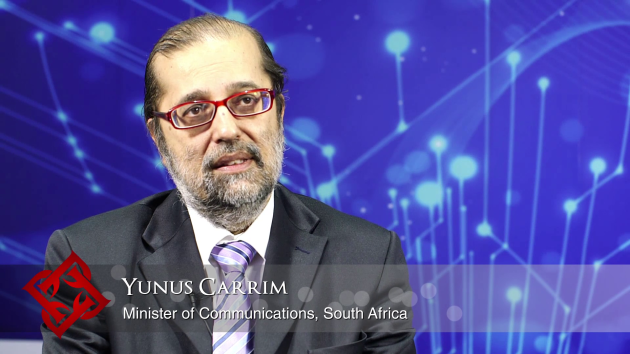 South African Minister of Communications Yunus Carrim on overcoming the barriers to business