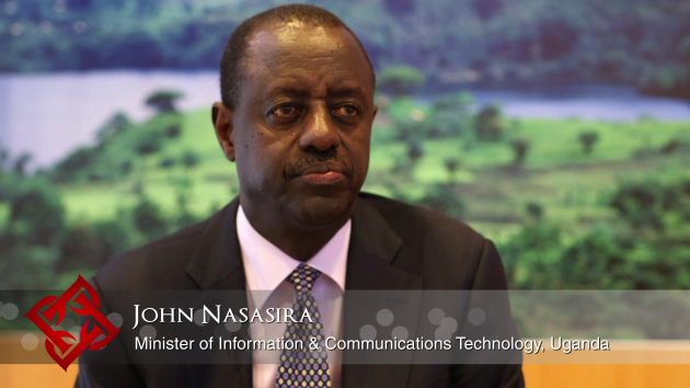 Ugandan Minister of Information & Communications Technology John Nasasira on the country's ICT priorities