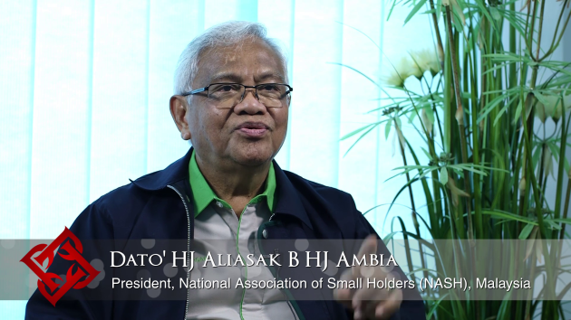 NASH President Aliasak Ambia on the importance of the palm oil industry to Malaysian small holders