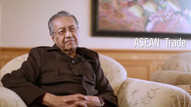 Tun Dr. Mahathir Mohamad on ASEAN trade, the future of Proton & 1MDB