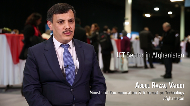 Afghanistan has 80% mobile penetration & 3 million Internet users, rolling out open access policy says Minister