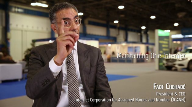 ICANN CEO Fadi Chehade on the importance of maintaining one Internet