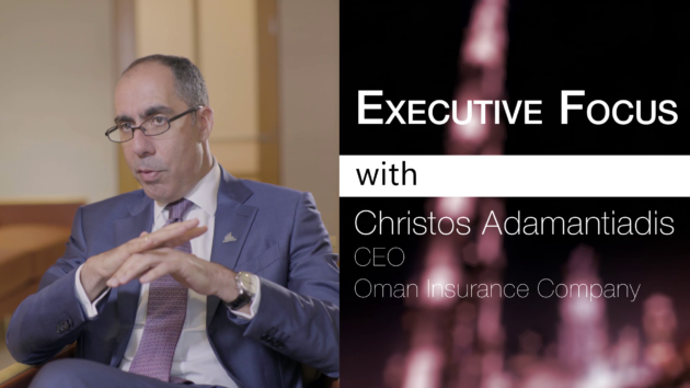 Oman Insurance CEO Christos Adamantiadis on innovation in the insurance industry